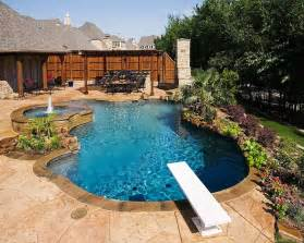 Back Yard Landscaping Ideas Pool Area