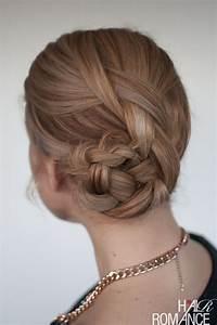 Easy Braided Bun Hairstyle Tutorial Hair Romance