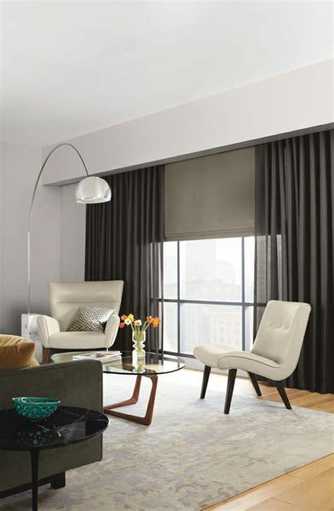 Vorhänge Modern Wohnzimmer by Moderne Vorh 228 Nge Bringen Das Gewisse Etwas In Ihren
