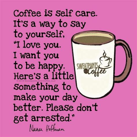 coffee i want you and say to on