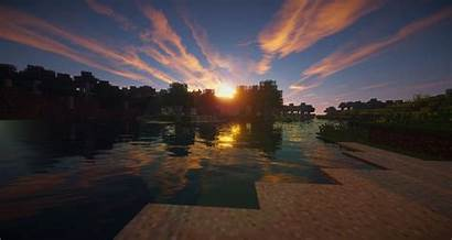 Minecraft Wallpapers Shaders Games Application Sky Phone