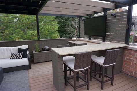rooftop deck  amenities chicago roof decks