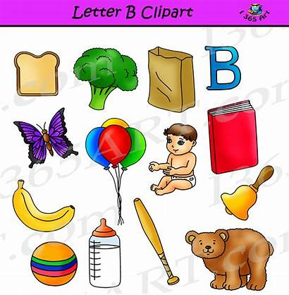 Clipart Letter Objects Alphabets Learning Letters Commercial