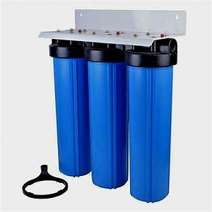 Big Blue Water Filter 20 U0026quot X4 5 U0026quot   Kdf85