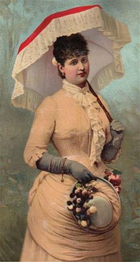 clip art victorian lady  parasol  graphics