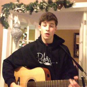 Watch Shawn Mendes39s Vine QuotChristmas Is Coming