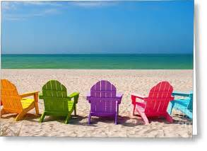 Beach Chair Canvas by Adirondack Beach Chairs For A Summer Vacation In The Shell
