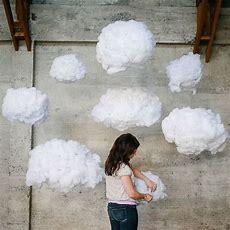 35cm Wedding Decorations Props Cloud Cotton Wedding Three
