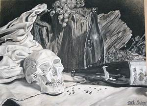 The gallery for --> Still Life Black And White Drawing