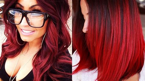 Red Hairstyles 2018 💗 Red Hair Looks 💗 Red Hair Color
