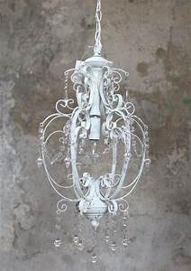 Kronleuchter Weiß Landhausstil : kronleuchter l ster lampe wei antik eisen vintage landhaus shabby deckenleuchte ebay ~ Indierocktalk.com Haus und Dekorationen