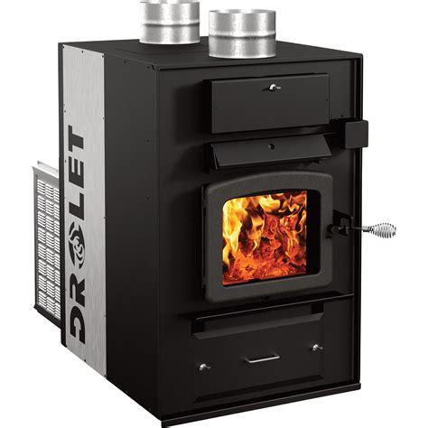 fireplace furnace product drolet heatmax wood furnace 130 000 btu epa