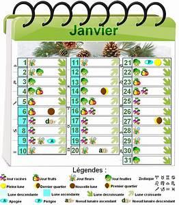 Calendrier Lunaire Jardinage : calendrier lunaire pour le jardinage biologique ~ Melissatoandfro.com Idées de Décoration
