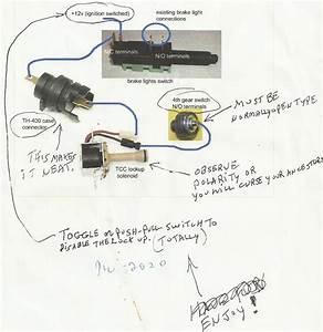 Lock Up Converter Kit 200r4 Wiring Diagram Html