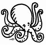Octopus Clipart Clip Outline Cliparts Drawing Coloring Drawings Cartoon Library Interim Colouring Views Clipartix Wikiclipart Octopuses Presentations Websites Reports Powerpoint sketch template