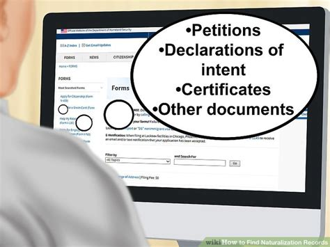 bureau naturalisation how to find naturalization records 11 steps with pictures