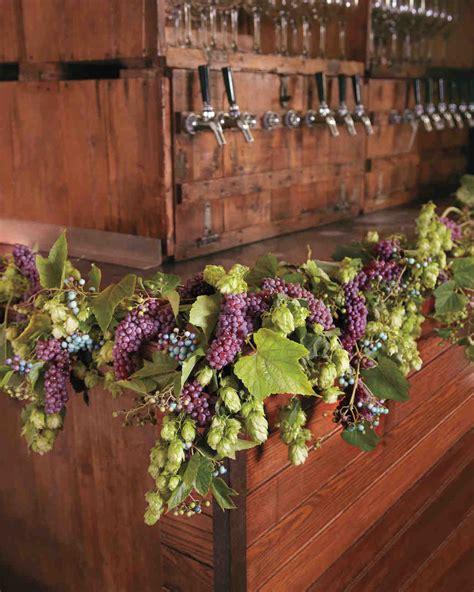 diy fresh flower garlands martha stewart weddings