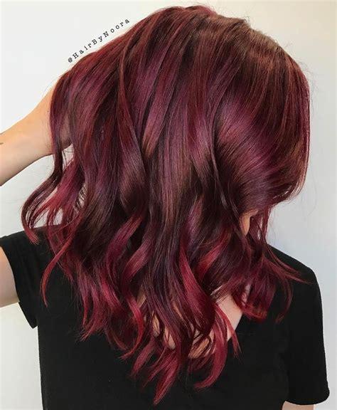 burgundy hair color best 25 burgundy hair colors ideas on