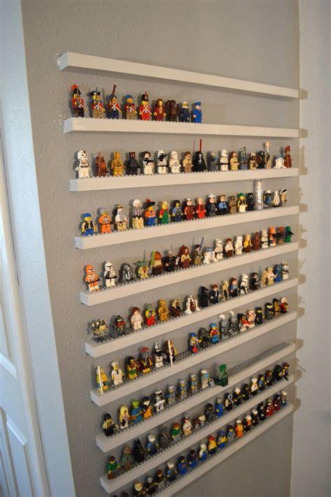 playmobile cuisine diy lego minifigure storage shelves tutorial