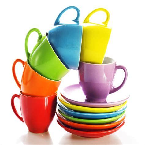 autocollant pour cuisine sticker pour lave vaisselle tasses multicolores stickers