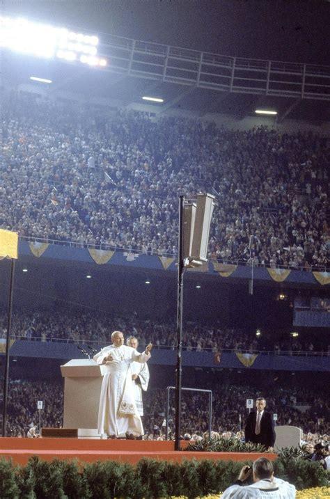 pope john paul ii visits nyc   time