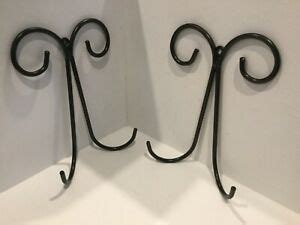 decorative plate wall hangers   height  inches width  holder  ebay