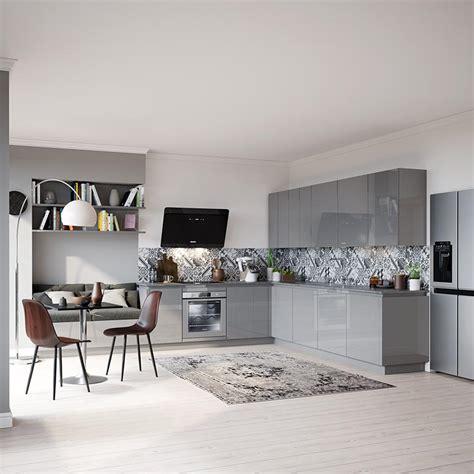 grande cuisine ouverte l 39 aménagement d 39 une cuisine ouverte en 10 photos but