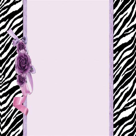 Animal Print Wallpaper Border - zebra print border clip free wallpaper