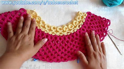 blusa tejida a crochet paso a paso 2 youtube