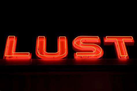 lust  night neon sign  hyattsville marylands art