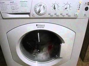 Hotpoint Ariston Waschmaschine : hotpoint ariston eco8l109 main wash youtube ~ Frokenaadalensverden.com Haus und Dekorationen
