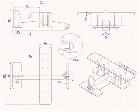 simple wooden toys biplane kids toy