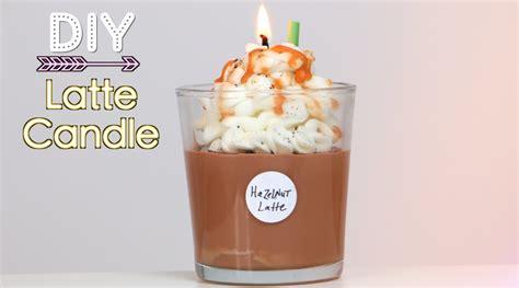 DIY Starbucks Latte Candle (Holiday Gift Idea)   YouTube