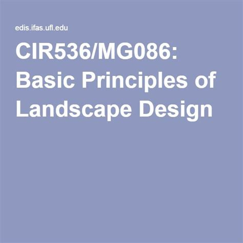 landscape design basics principles basic principles of landscape design home dignity