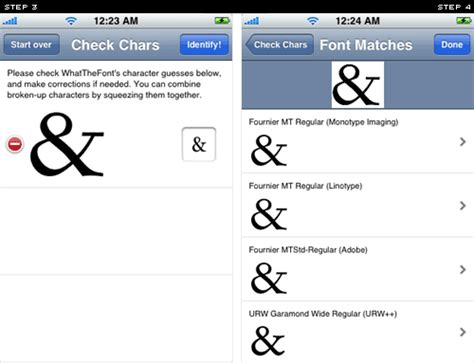 fonts for iphone fonts typefaces and all things typographical i