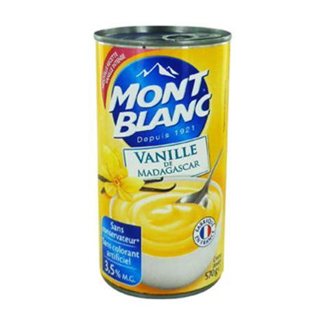 creme dessert mont blanc vanille 570g simply market