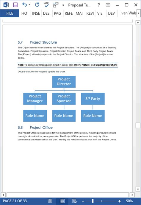 proposal templates ms word excel proposal writing
