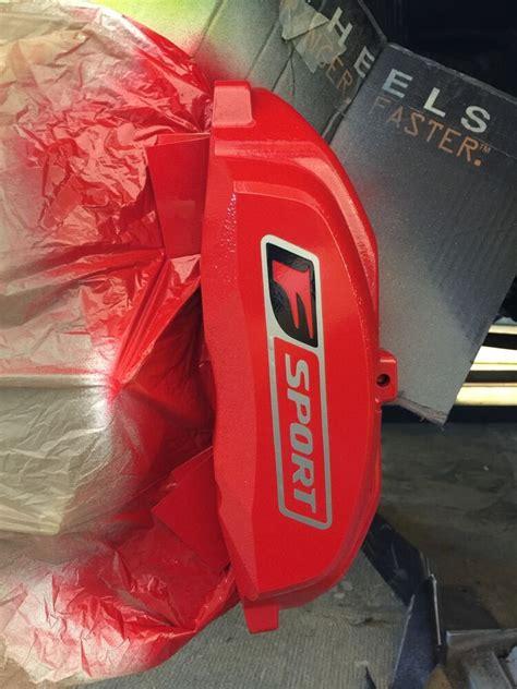 pc lexus brake caliper vinyl sticker decal logo wrap