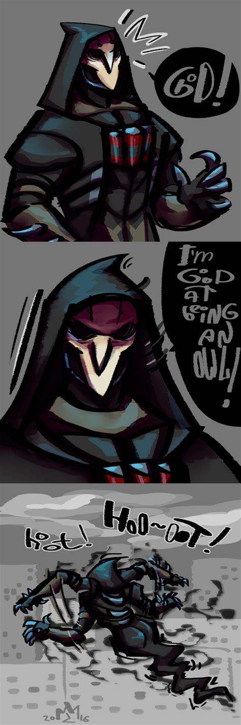 Reaper Memes Overwatch - reaper is an owl overwatch know your meme