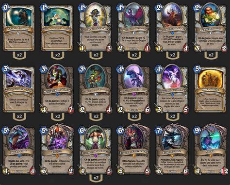 deck pr 234 tre dragon tgt zetalot hearthstone heroes of