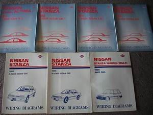 Sell 7 Wiring Diagram Manuals Nissan Stanza 1988 1989 1990 1991 1992 1993    Repair Motorcycle In