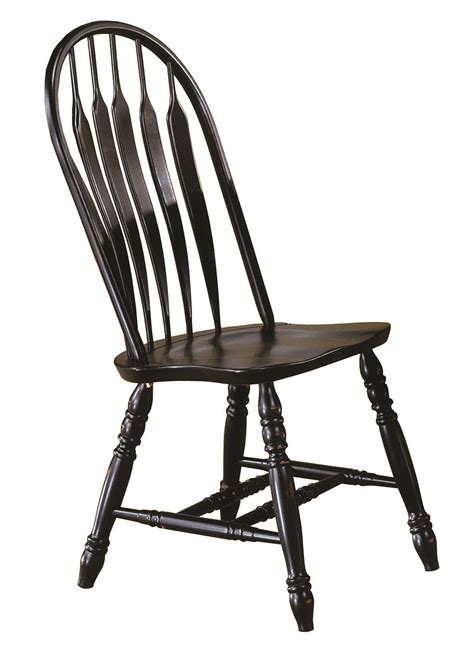 sunset trading kitchen island sunset trading comfort back dining chair in antique black