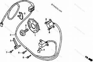 Honda Motorcycle 1993 Oem Parts Diagram For Pulse