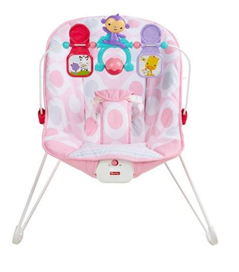 fisher price baby s bouncer pink ellipse walmart canada