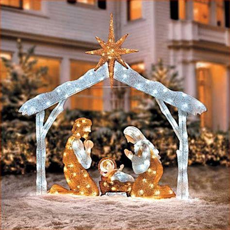 nativity set outdoor lights 20 wonderful outdoor lighted nativity picture inspirational qatada
