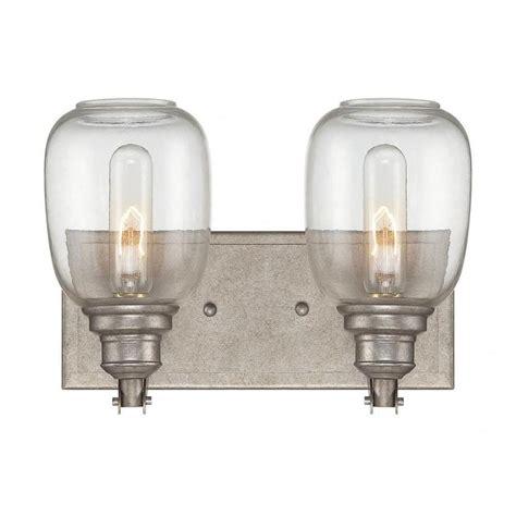 industrial vanity light filament design euboea 2 light industrial steel bath