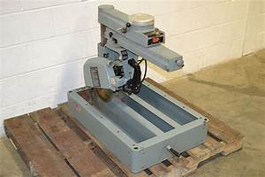 "Delta Rockwell 33-890 12"" Radial Arm Saw The Equipment Hub"
