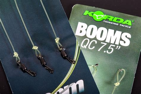 ready tied booms   hook links fishing tackle