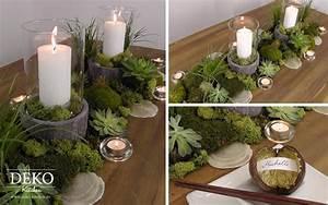 Schalen Deko Ideen : diy ausgefallene tischdeko im naturlook deko kitchen ~ Whattoseeinmadrid.com Haus und Dekorationen