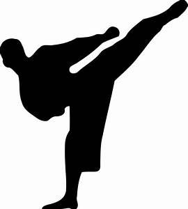 Fichier:Karate silhouette svg — Wikipédia